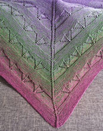 Photo of Großes Tuch mit Farbverlauf