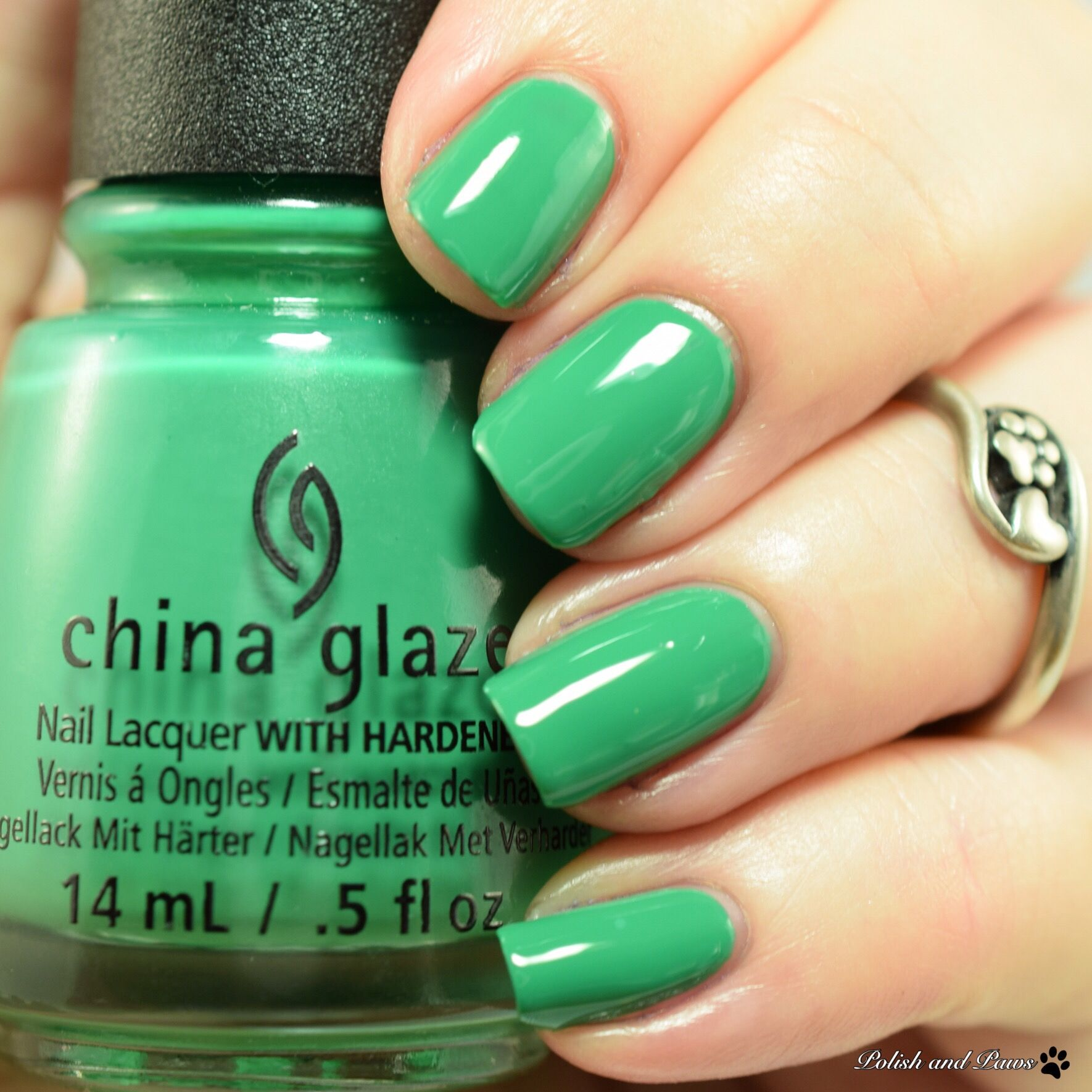 China Glaze Emerald Bae | Nail It! Community Board | Pinterest ...