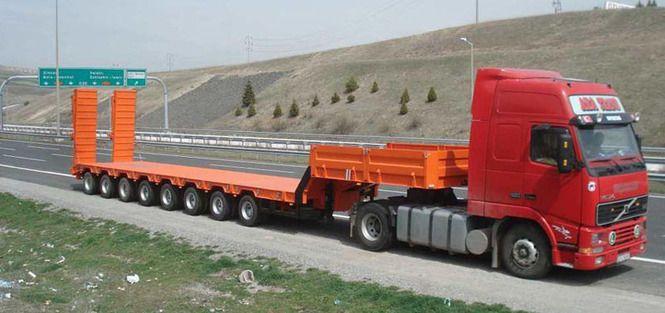 Мы осуществляем грузоперевозки габаритных и негабаритных грузов, любой сложности, по России и СНГ. Заключаем договора на разовое и долгосрочное обслуживание!