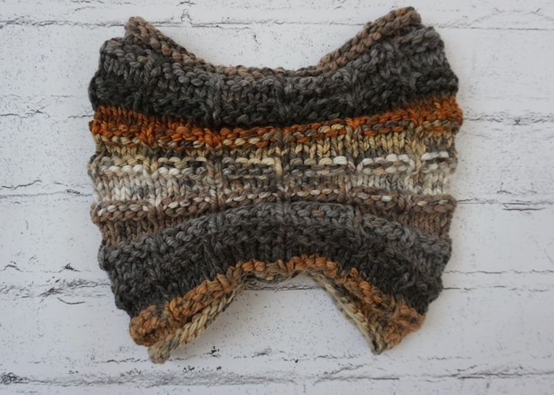 Chunky Knit Cowl Pattern: Rustic Hooded Cowl   Knit cowl ...