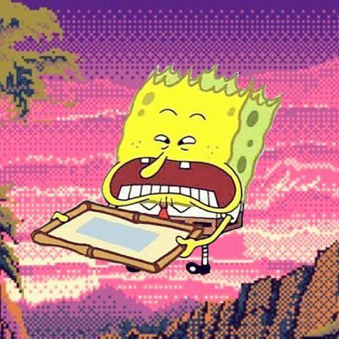 Image result for spongebob aesthetic wallpaper   Iphone wallpapers ...