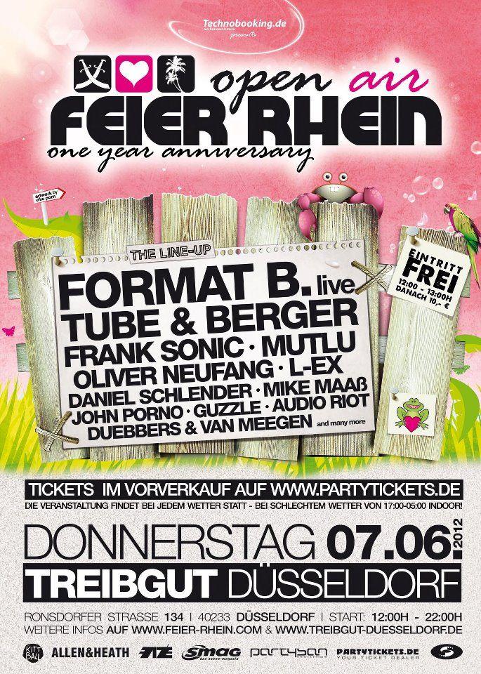 Feier Rhein