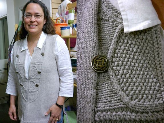 Caftan Pullover Modified From Interweave Knits Spring 2006 Knit