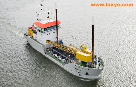 Laxyo Group is one of the biggest dredger owners in India