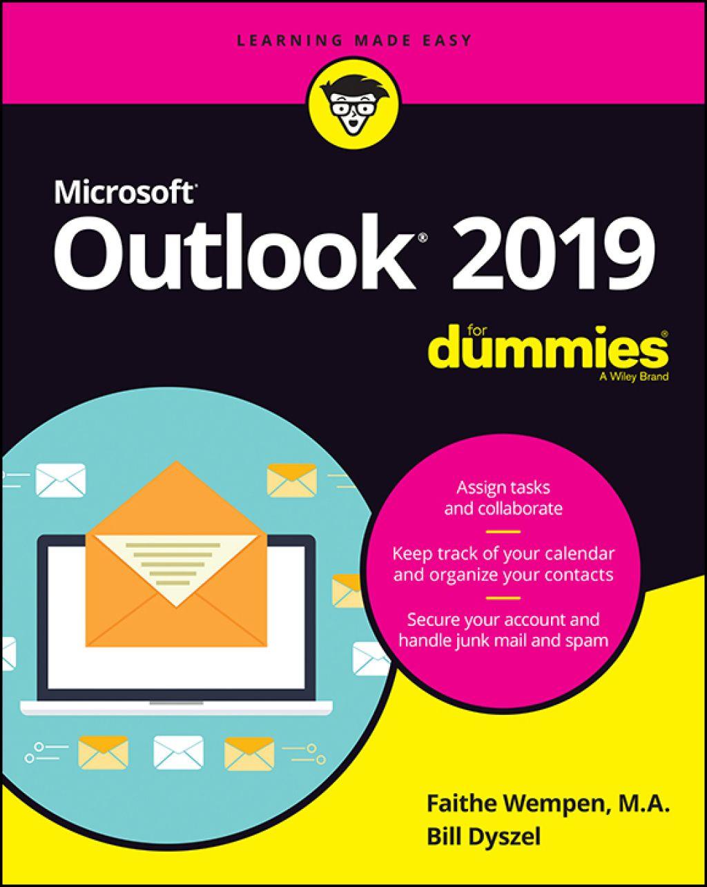 Outlook 2019 For Dummies (eBook) in 2020 Outlook 2019