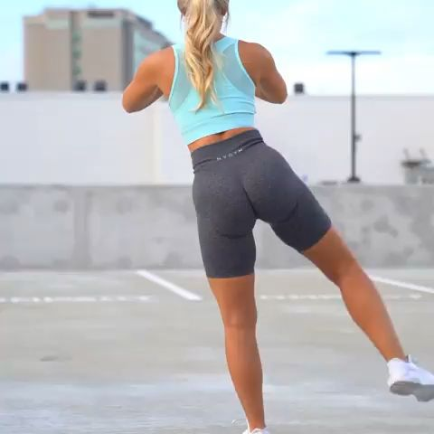 No equipment lower body exercise to work your legs and glutes. #glutes #legday #exercisefitness #fitness #exercise