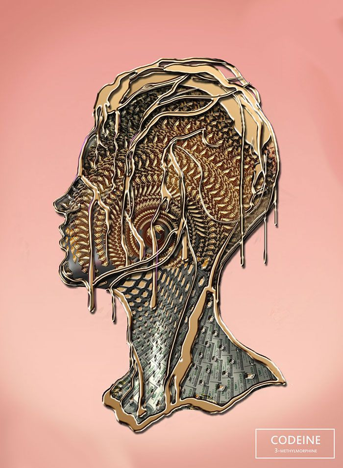 Artist Brian Pollett takes 20 different drugs and creates 20 illustrations to show drug effects.