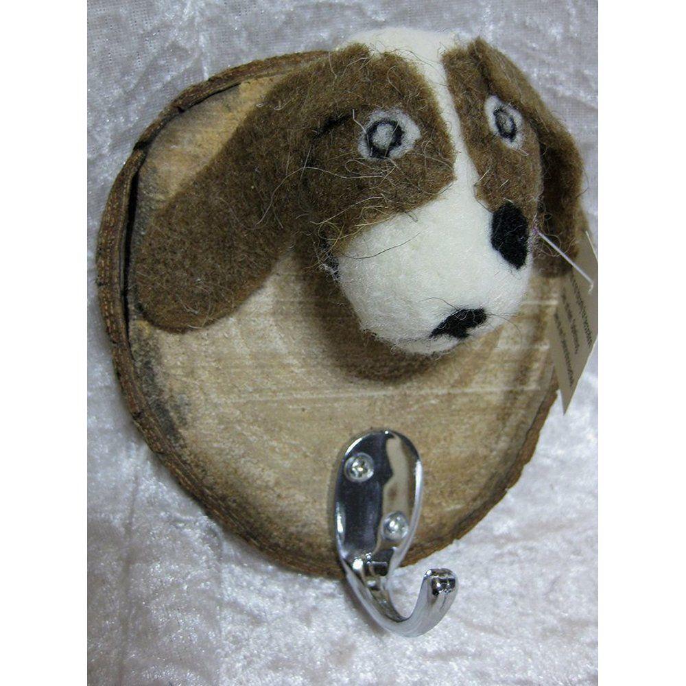 Hund Garderobe Wandhaken Kleiderhaken Haken Anhänger Hakenleiste Dog