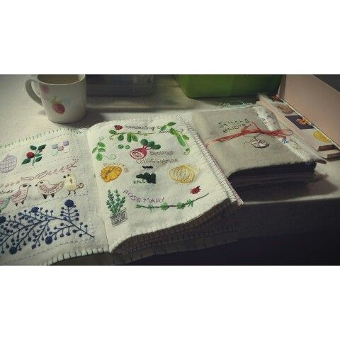 Embroidery stitchbook