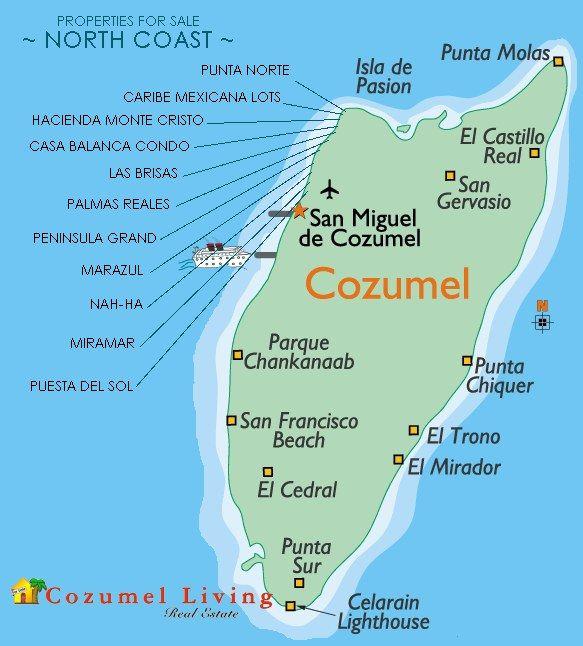 Cozumel Maps Cozumel Vaca Pinterest Cozumel Cruises and Vacation