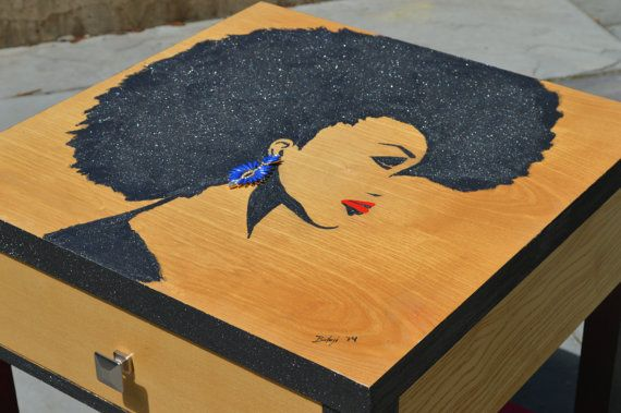 Hand Painted Furniture Art by DesignsByBolaji on Etsy, $3000.00
