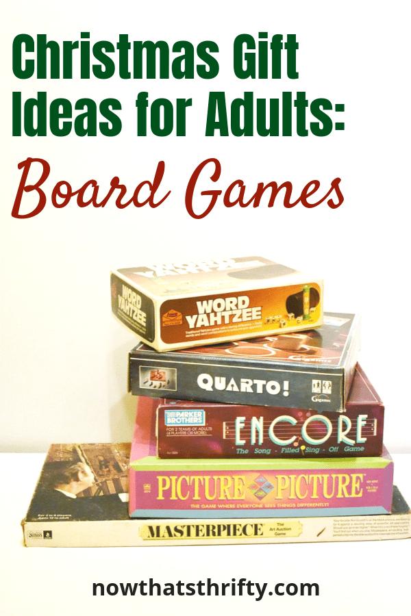 Fun Board Games for Adults Gift Guide Fun board games