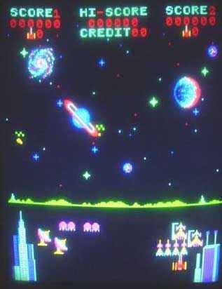 Pleiades Arcade Game I Liked This Game But It Was Hard To Find