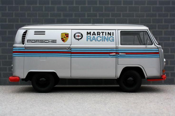 "germaniron: ""VW Martini Racing Porsche support vehicle """