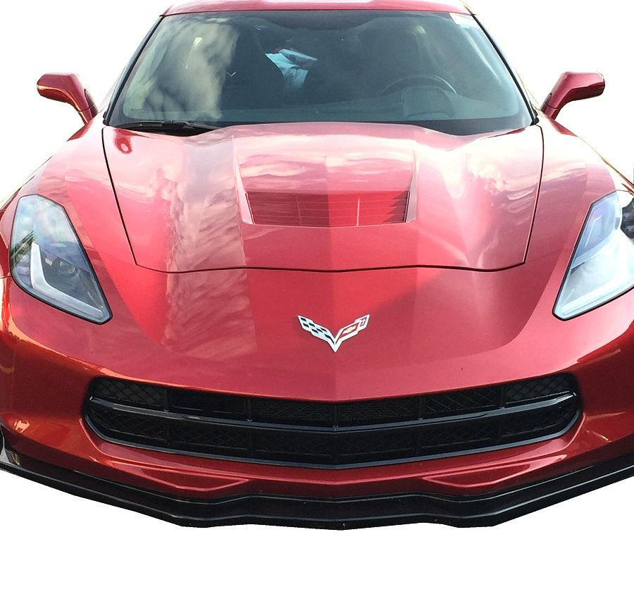 C7 Corvette Molded Plastic Grille Blackout Package