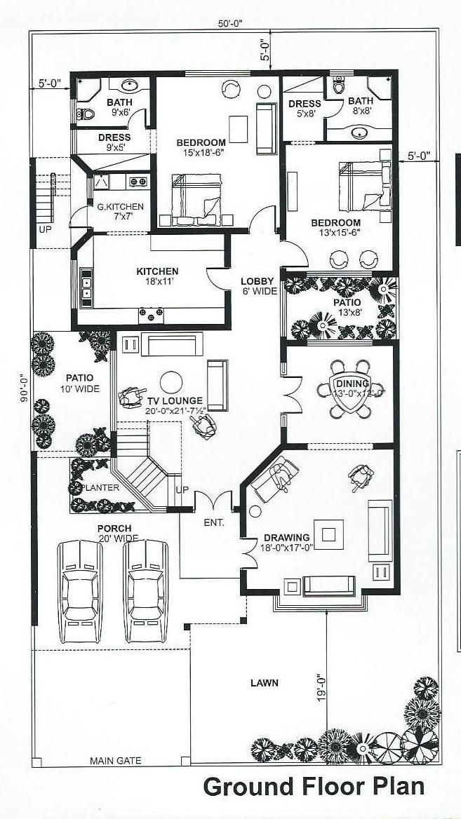 Pin By Gildas Kone On House Plans Single Storey House Plans My House Plans House Construction Plan