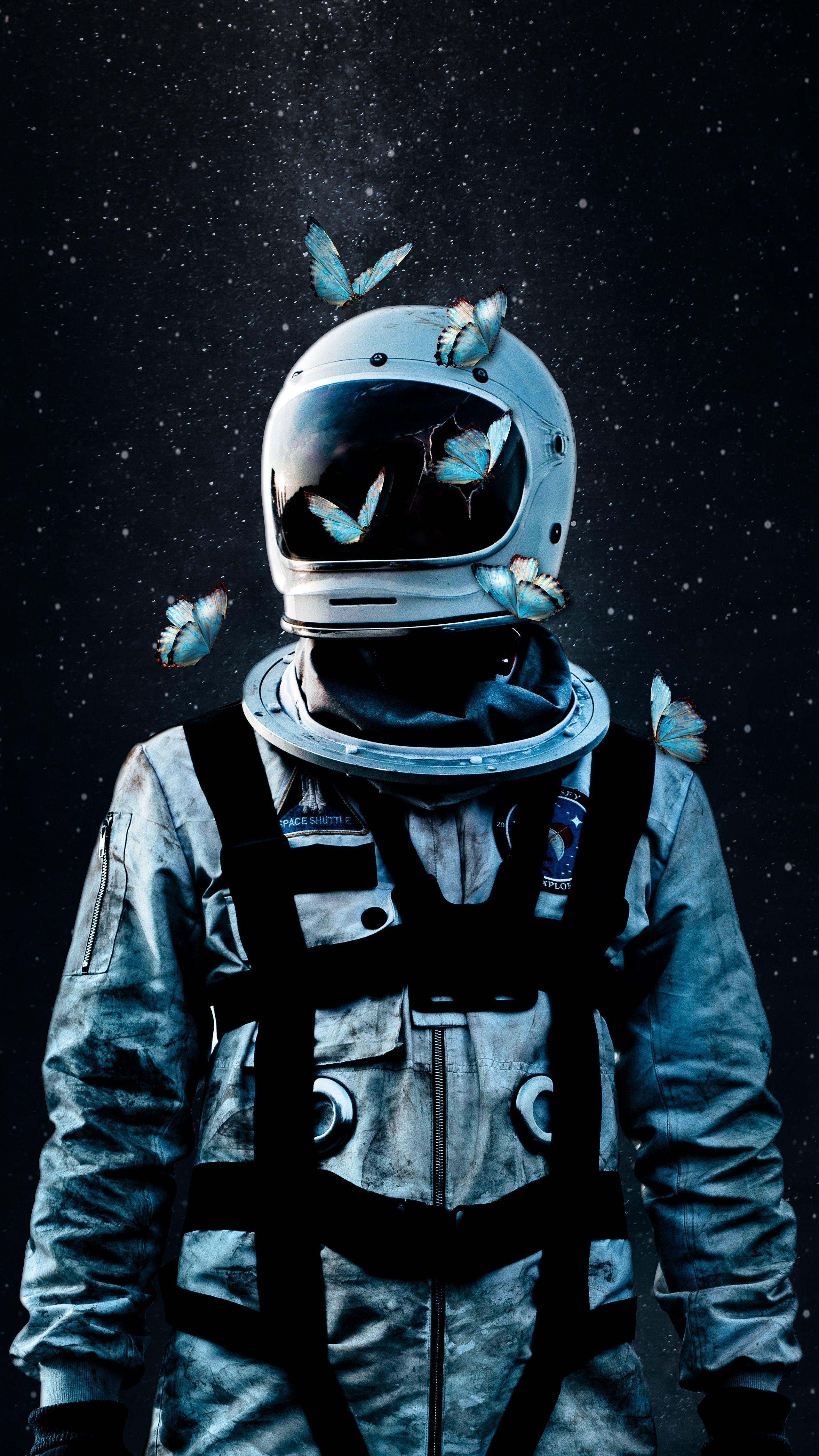 creative space astronaut wallpaper astronaut