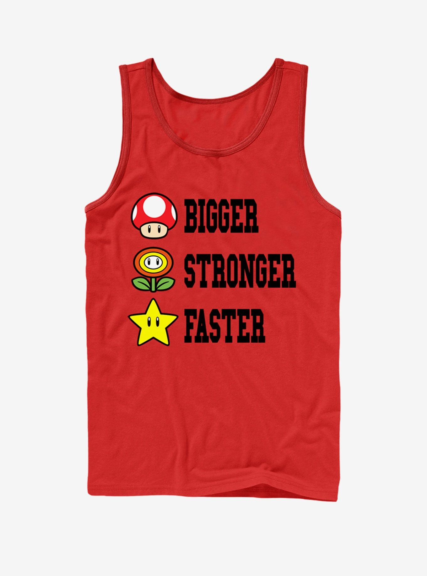 Nintendo Mario Bigger Stronger Faster Tank Nintendo