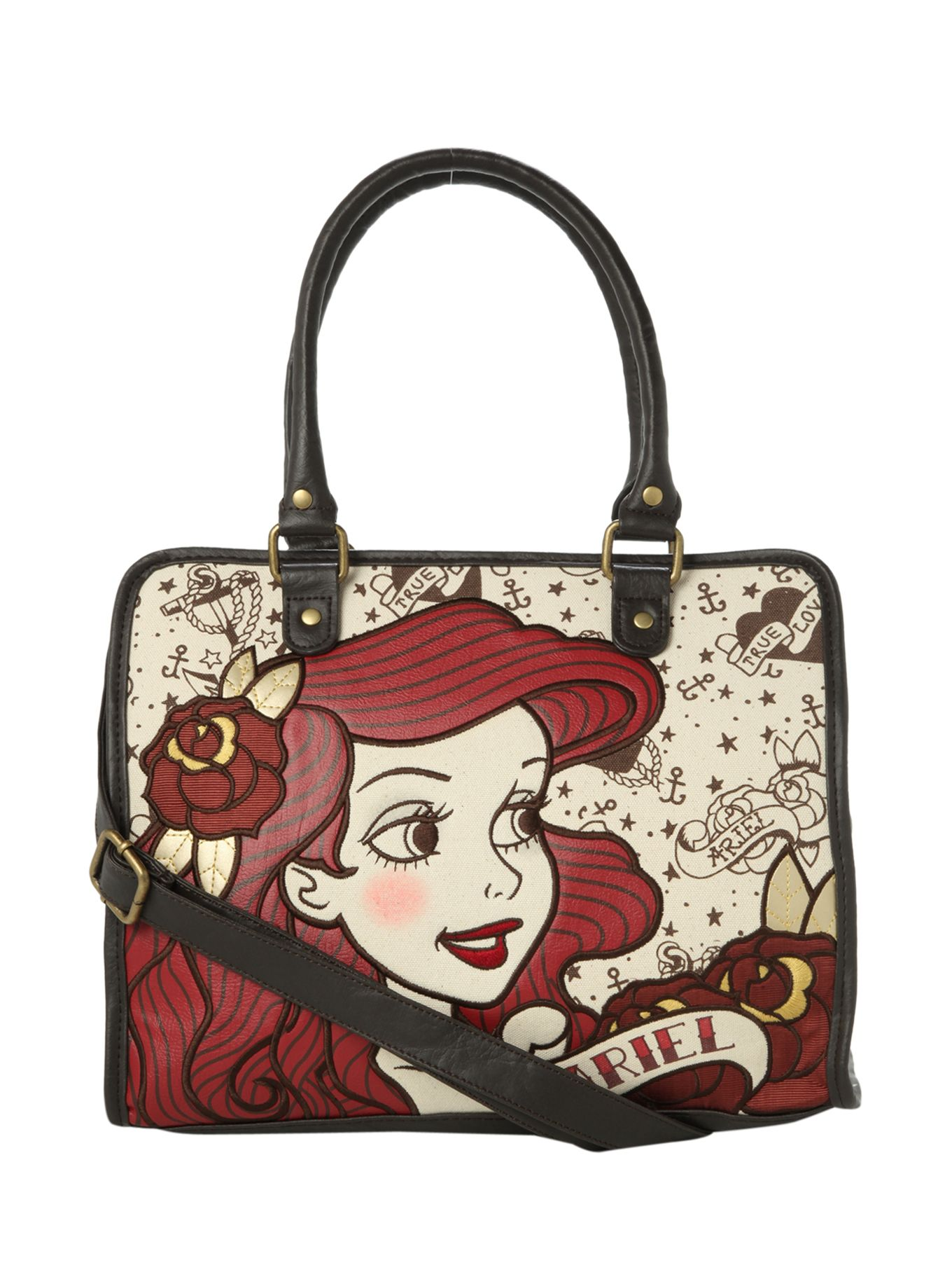 Disney The Little Mermaid Tattoo Ariel Bag Hot Topic 44 63