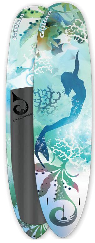 Mermaid Paddle Board Paddle Package Supco Gillian