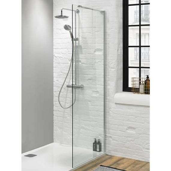 Walk In Shower Glass Panel - Size 700mm | Shower Panels | Pinterest ...