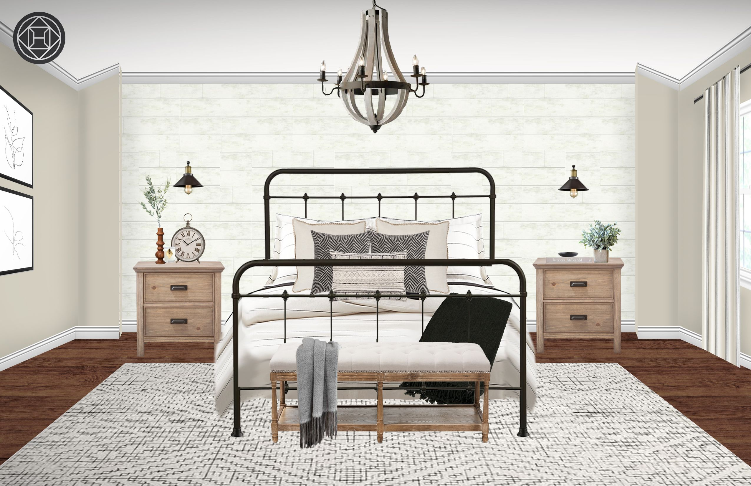 Classic, Industrial, Farmhouse, Rustic, Transitional