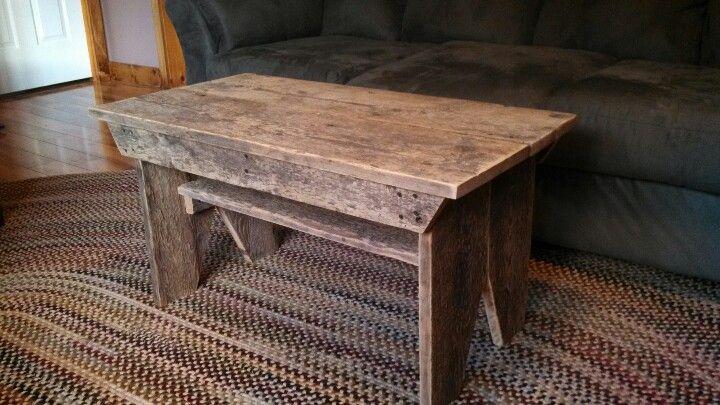 Barn Board Coffee Table Things I 39 Ve Built Pinterest Barn Basements And House