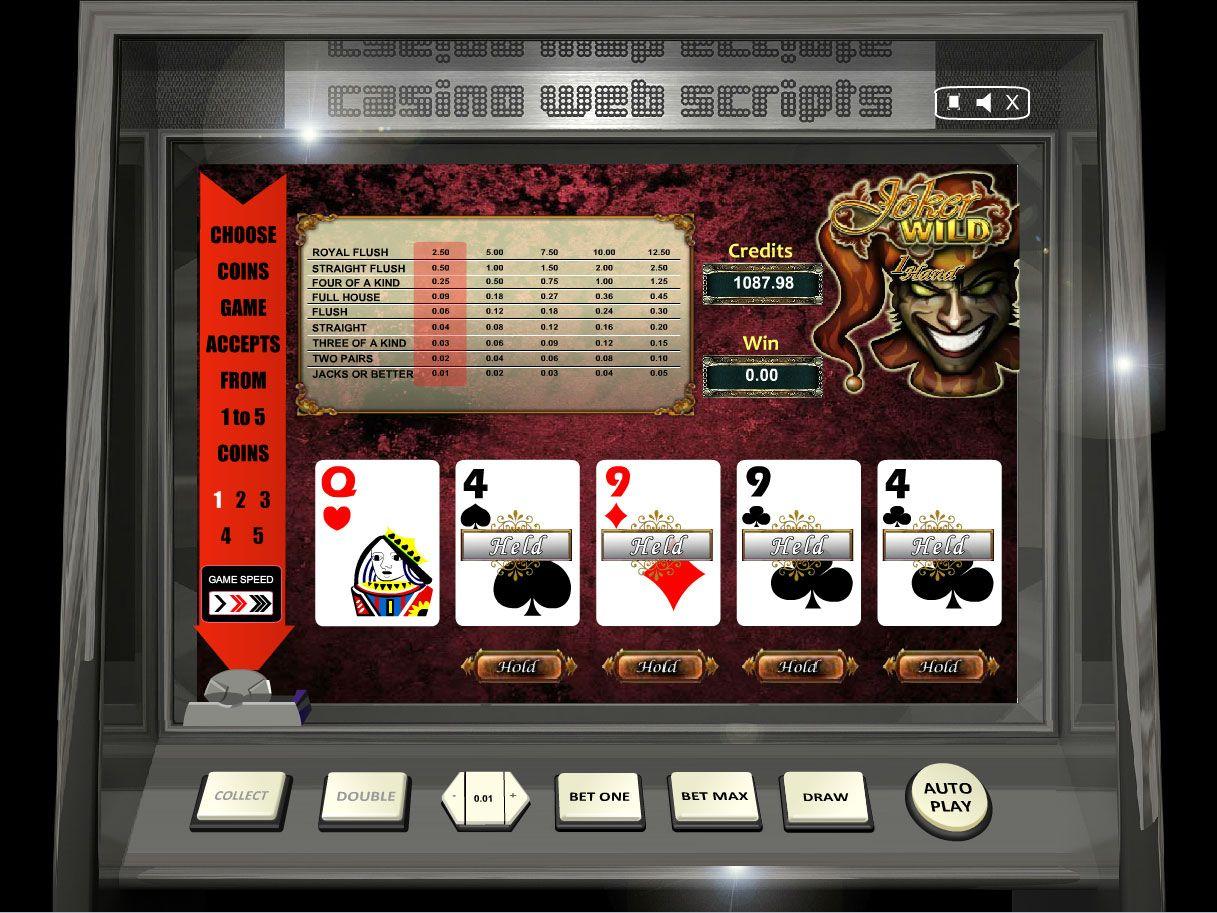 Buy Video Poker game for Online Casino Jokers Wild