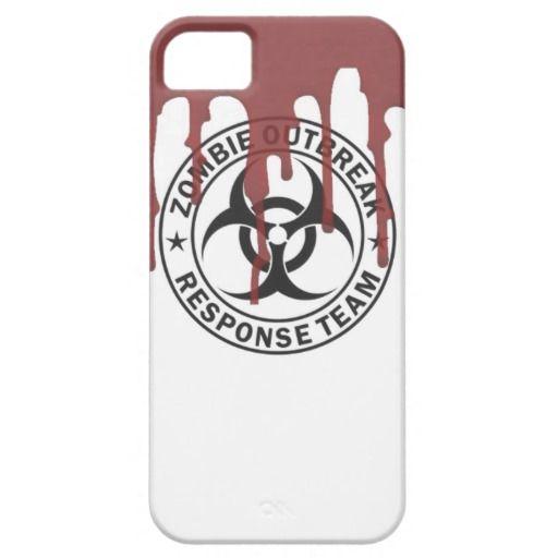 zombie outbreak response team bio hazard walking d iPhone 5 case