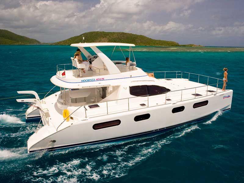 British Virgin Islands Catamaran Boat Power Catamaran