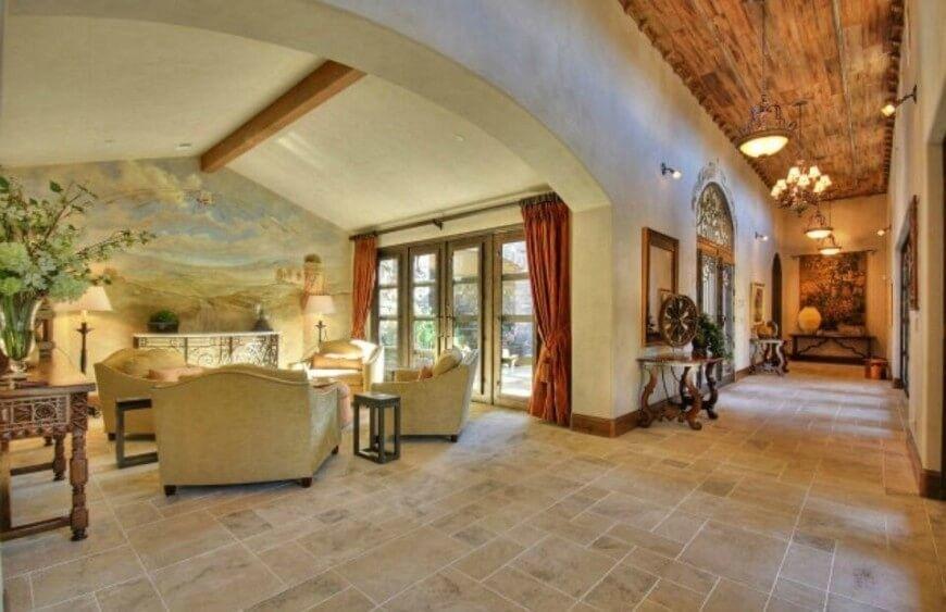 45Z Wohnzimmer Säule Stile mediterrane Toskana | Fantastische ...