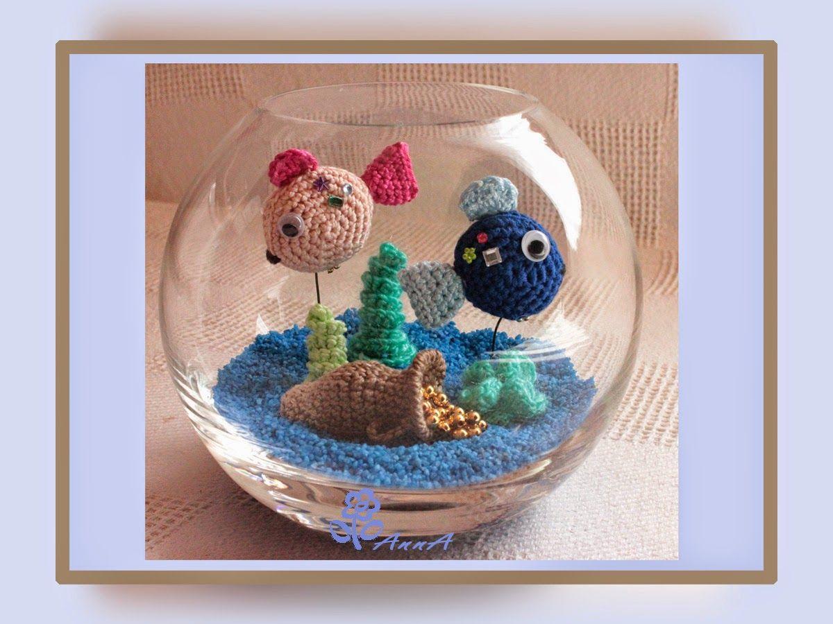Aquarium | efe icin | Pinterest | Amigurumi, Crochet and Dolls