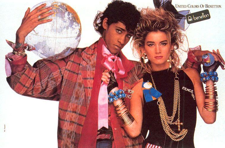 Benetton ad 1986