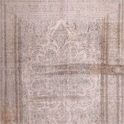 East Urban Home Contemporary Beige/Palm Pink Area Rug Rug Size: Square 3' - Products #Area #BeigePalm #contemporary #East #farmhouserugs #Home #Pink #Products #Rug #Size #Square #Urban