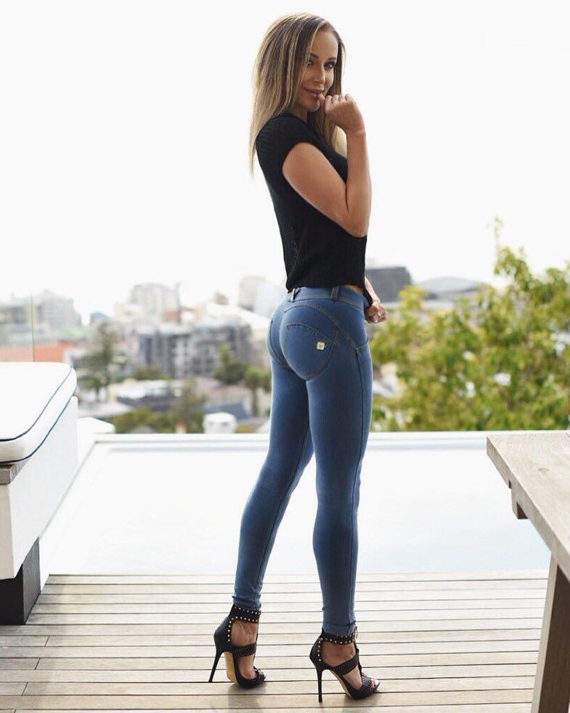 Hot pretty gorgeous girls in tight jeans 11