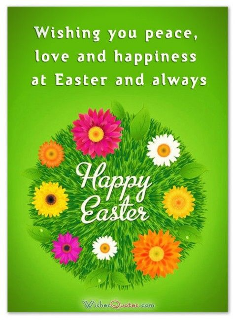 Easter Greetings For Friends And Family By Wishesquotes Happy Easter Quotes Easter Wishes Messages Happy Easter Messages