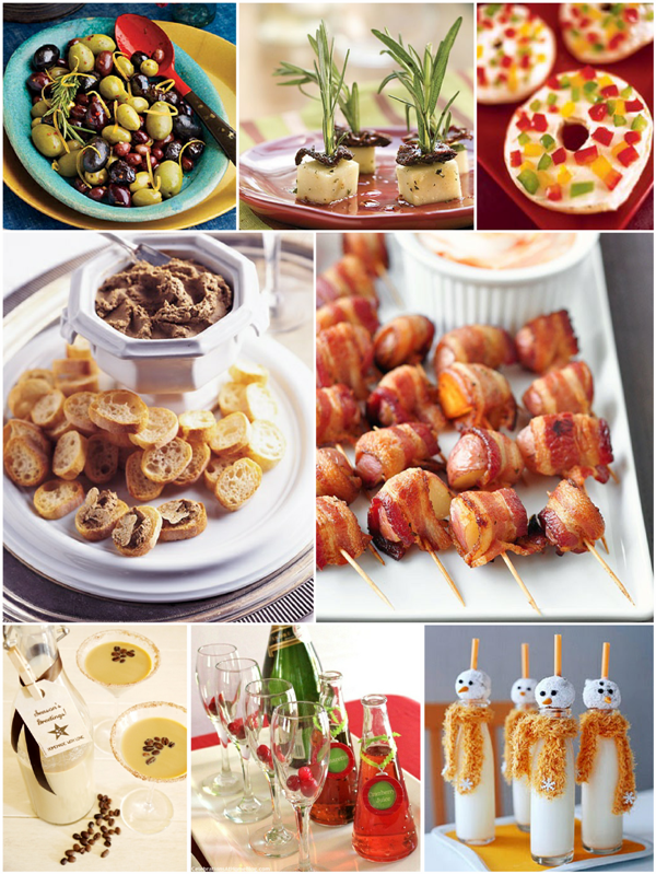christmas party easy appetizers and holiday cocktails