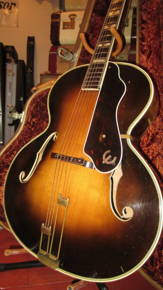 Vintage Original 1946 Epiphone Emperor Archtop Acoustic Guitar