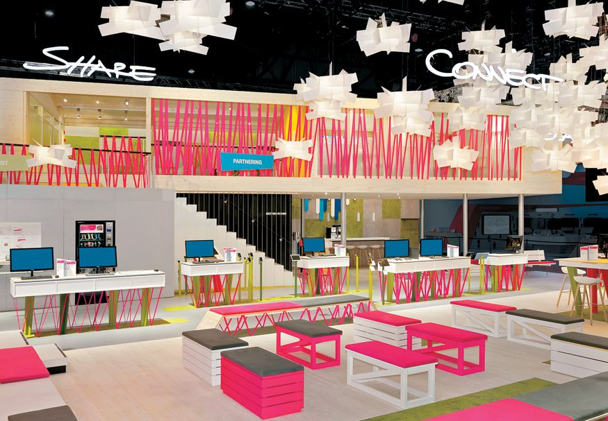 Upwardly Mobile in 2020 Booth design, Retail design, Design
