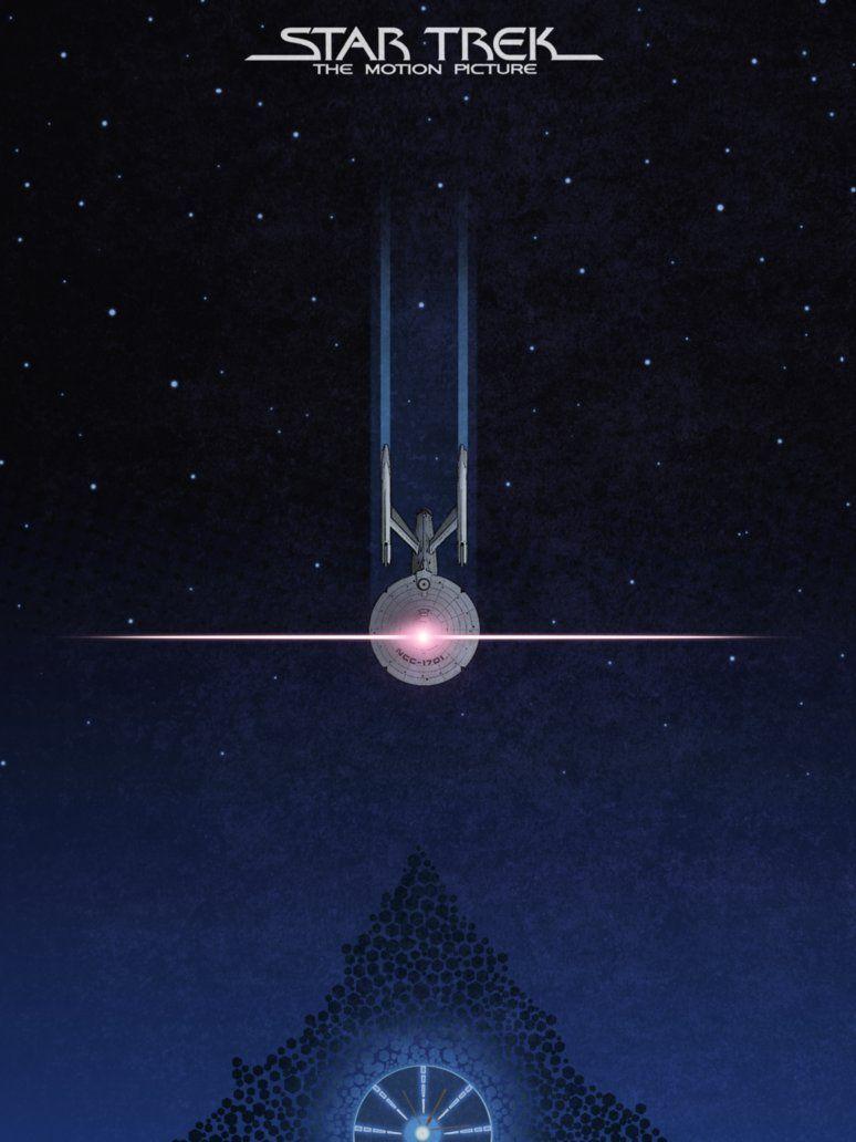 Star Trek The Motion Picture 1979 Minimal Movie Poster By Colin Morella Amusementphile