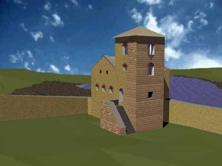 forteresse de Mayenne, chateau carolingien.