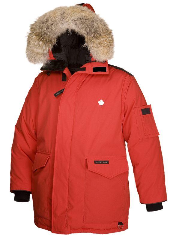Canada Goose Heli Arctic Parka Red Men CAD338.31 www