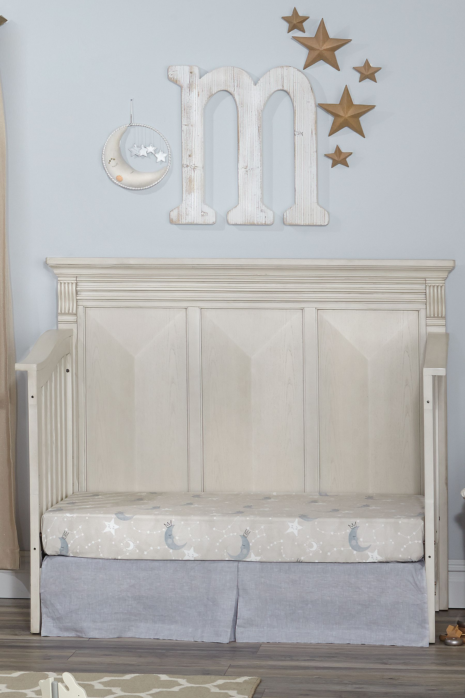 Sealed Grow Room Design: Kingsley Sedona 4-in-1 Convertible Crib In Vintage Ivory