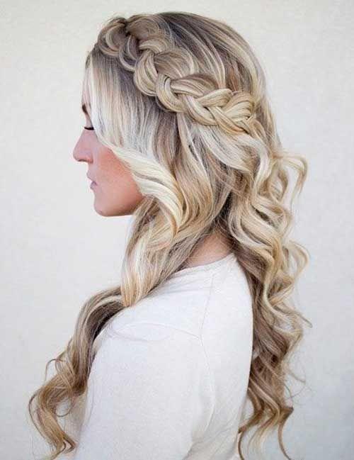 Bridesmaid Hair Styles Hair Styles Braids For Long Hair Long Hair Styles
