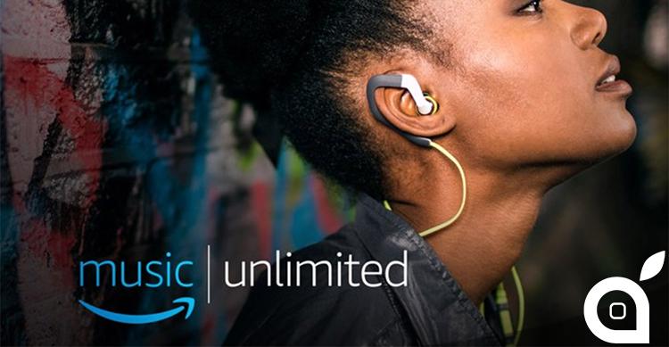 Amazon Music Unlimited arriva anche in Europa a partire da 399 al mese