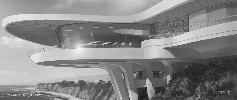 Phil Saunders 39 Random Stuff Tony Stark 39 S House Design