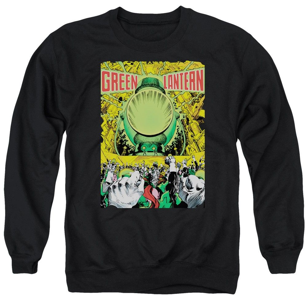 """Checkout our #LicensedGear products FREE SHIPPING + 10% OFF Coupon Code """"Official"""" Green Lantern / Gl #200 Cover - Adult Crewneck Sweatshirt - Green Lantern / Gl #200 Cover - Adult Crewneck Sweatshirt - Price: $39.99. Buy now at https://officiallylicensedgear.com/green-lantern-gl-200-cover-adult-crewneck-sweatshirt"""