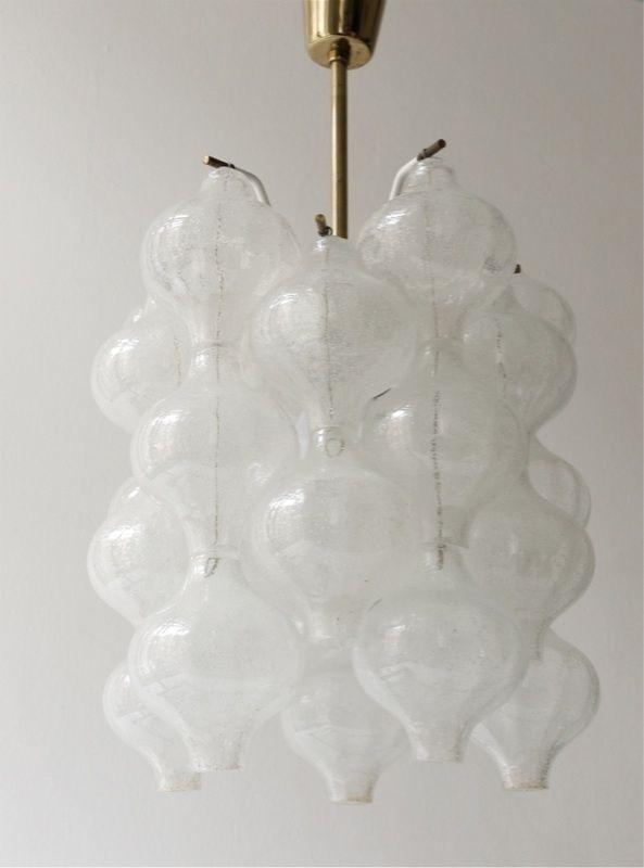 Kalmar Tulipan Glass Chandelier Lamp Glass Chandelier Pendant Lamp