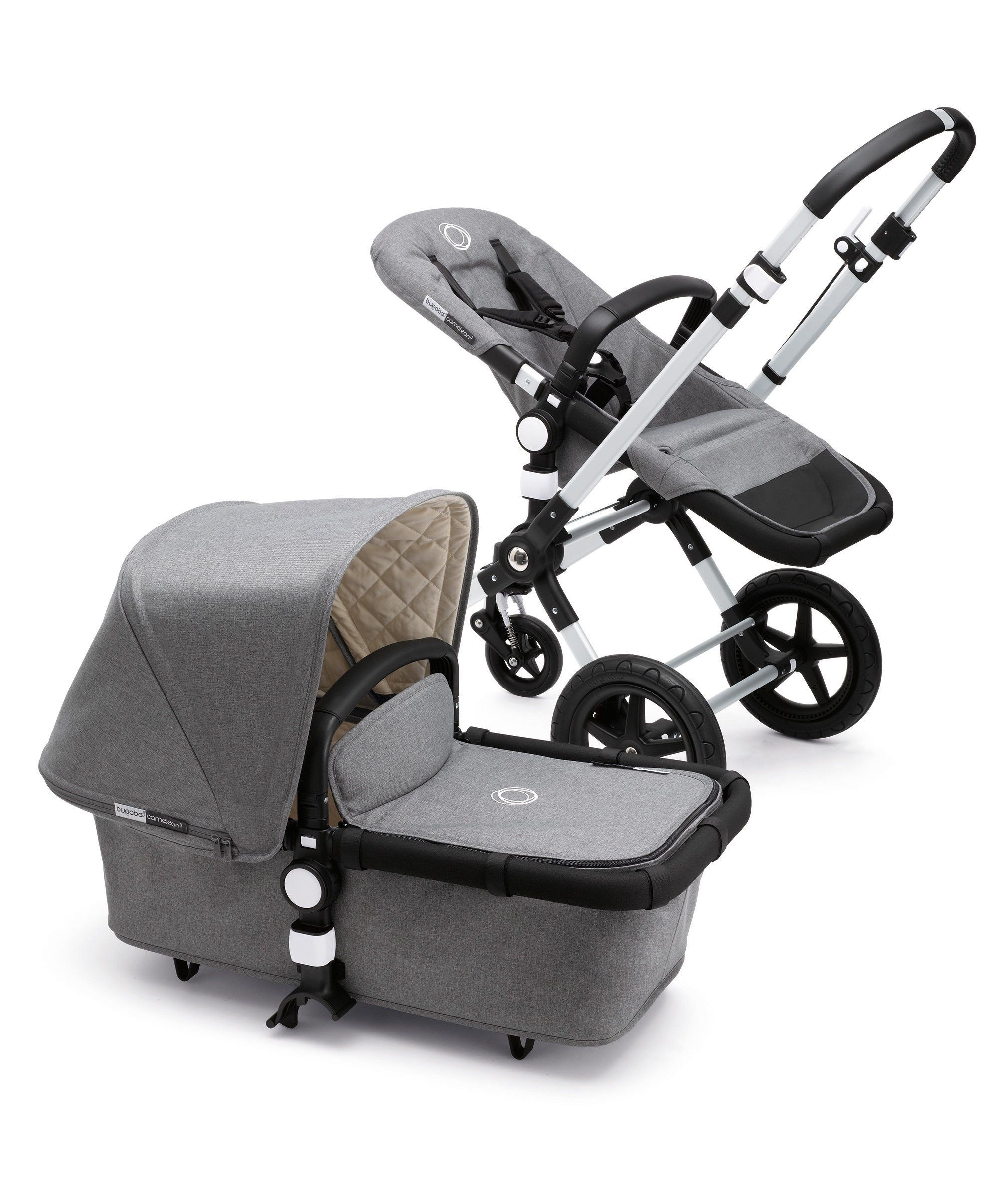 Discover the Bugaboo Cameleon Classic Collection V2 Grey