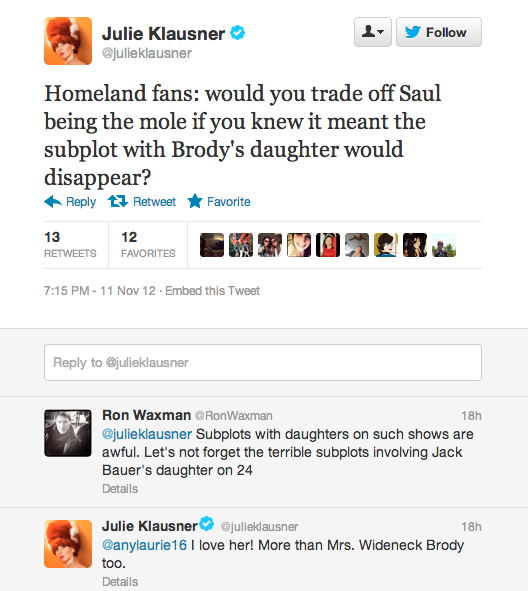a question for Homeland fans